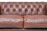 Chesterfield Bank Vintage Leer | 2-zits | Bruin | 12 jaar garantie_