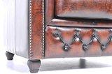 Chesterfield Bank Original Leer   6-zits   Antiek Bruin   12 jaar garantie_