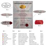 Chesterfield Fauteuil Original Stof   Pitch Oud Roze   12 jaar garantie_