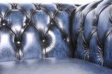 Chesterfield Original Antiek Blauw 1 + 1 + 3 zits_