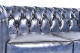 Chesterfield Original Antiek Blauw 1 + 2 zits_