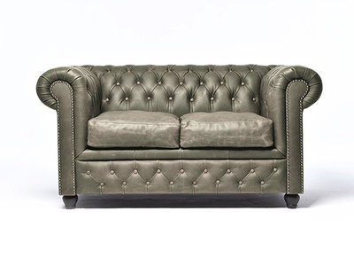 Chesterfield Bank Vintage Alabama C1057 | 2-zits | 12 jaar garantie