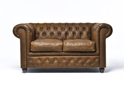 Chesterfield Bank Vintage Alabama C1059 | 2-zits | 12 jaar garantie