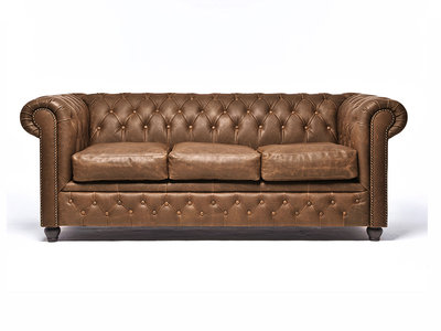 Chesterfield Bank Vintage Alabama C1059 | 3-zits | 12 jaar garantie