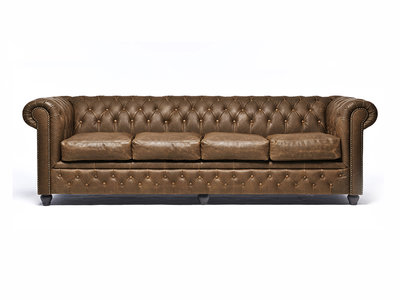Chesterfield Bank Vintage Alabama C1059 | 4-zits | 12 jaar garantie